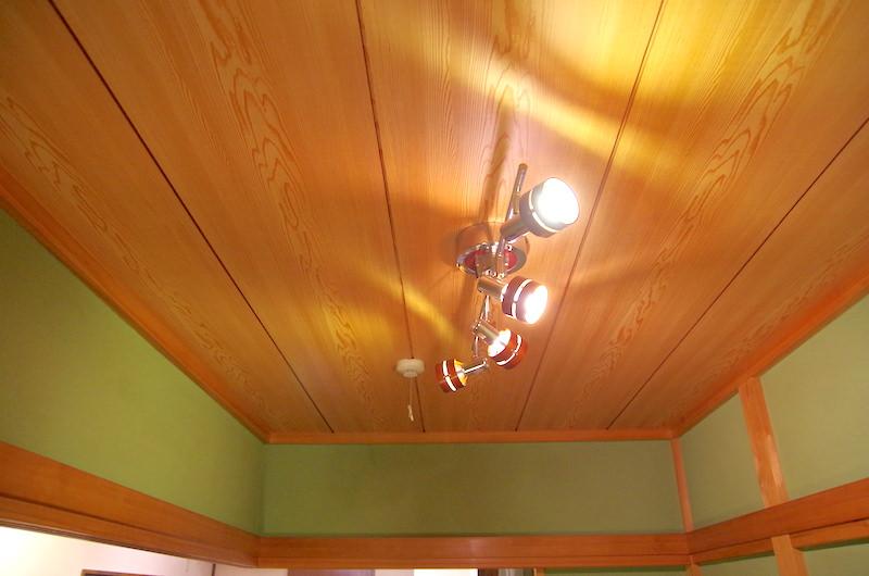 和室ラミネート天井