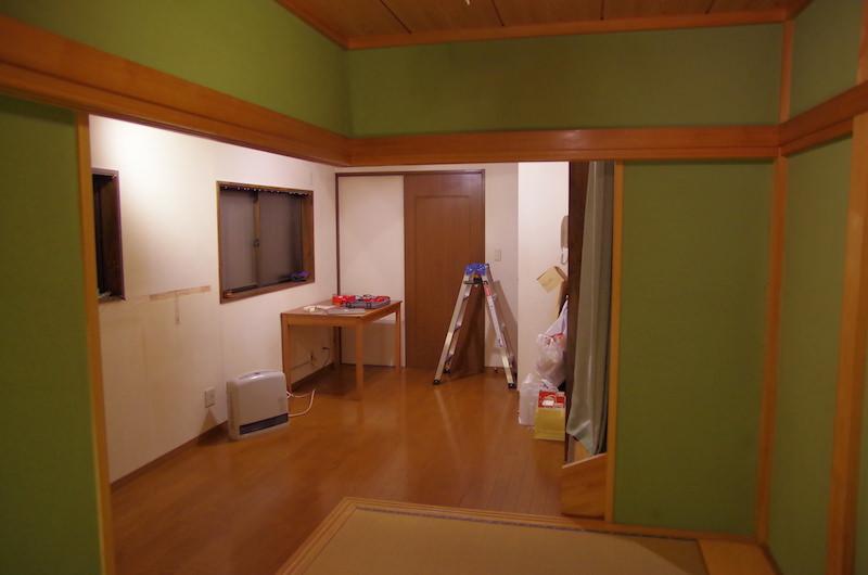 リノベーション前の部屋1