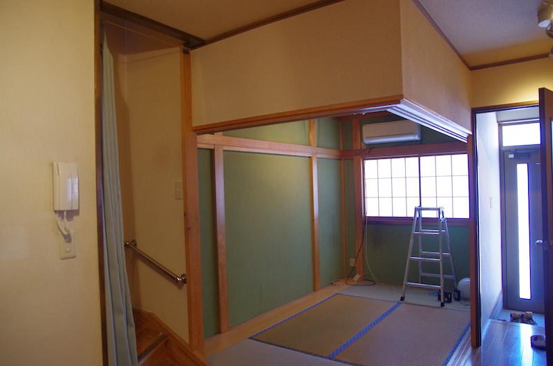 作業前の部屋