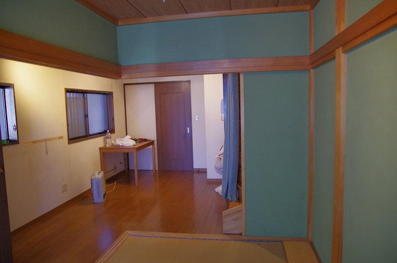 作業前の和室