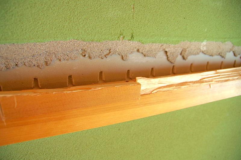 長押裏は砂壁が塗られていない