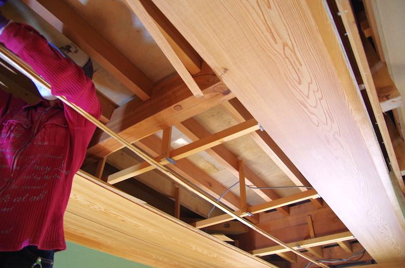 和室天井の構造
