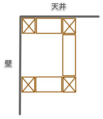 ふかし壁構造