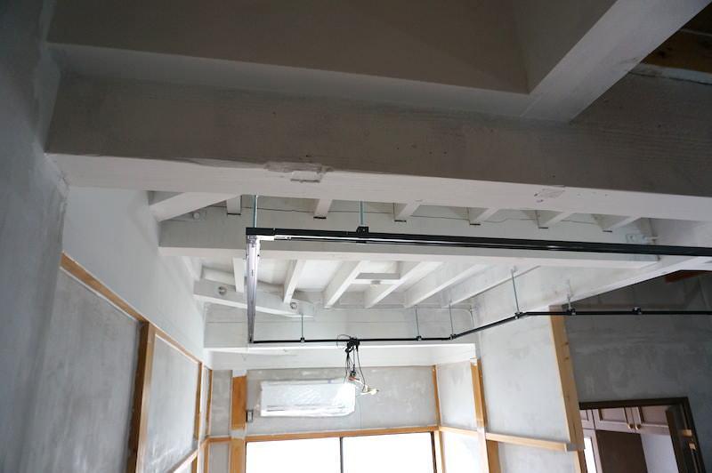 和室天井塗装後