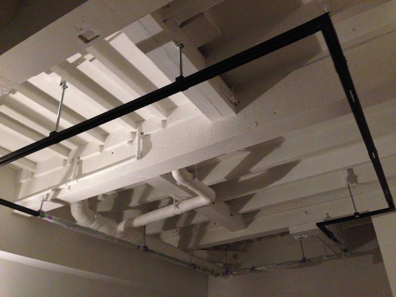 塗装後。洋室がわ