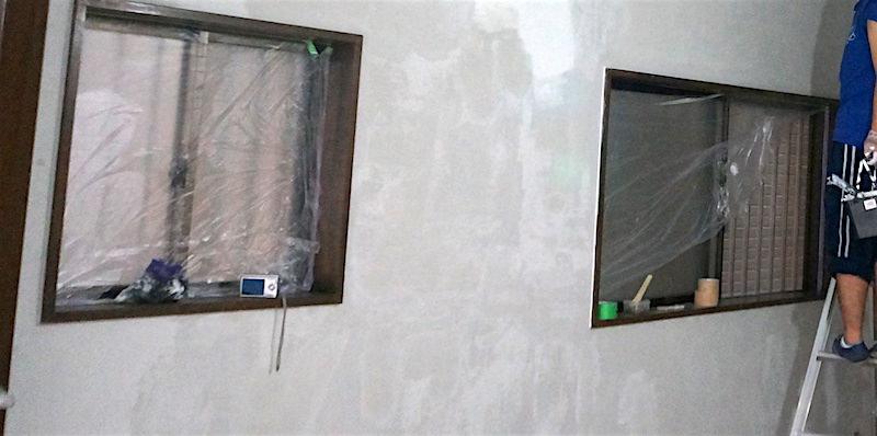 窓のマスキング