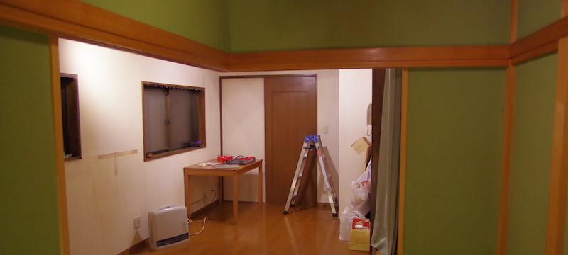 初期の部屋