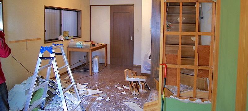 壁撤去イメージ