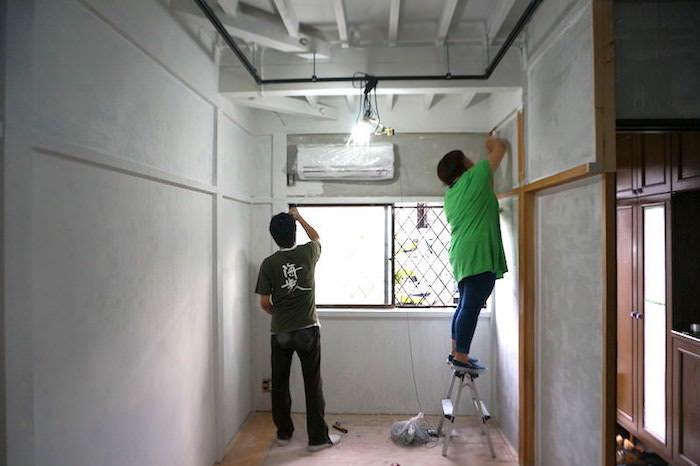 DIYで壁をペイントする。セルフリノベーションの部屋が激変する作業工程です