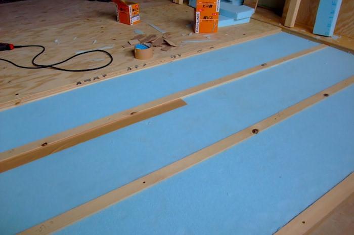 和室リノベーションDIYで畳からフローリングにする方法(下地編)