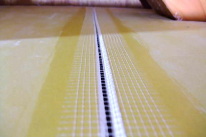 石膏ボードのつなぎ目処理