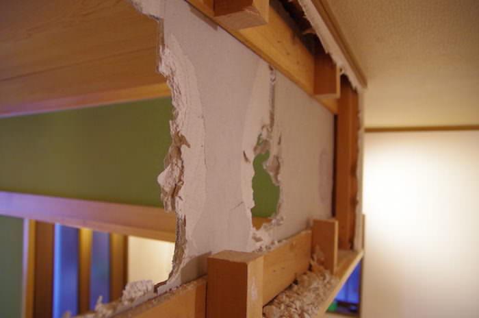 【セルフリノベーション】DIYで壁を抜く その1