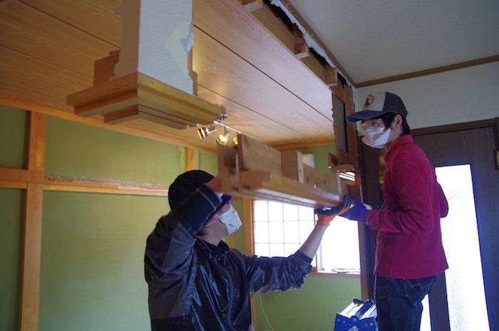 【セルフリノベーション】DIYで壁を抜く その2