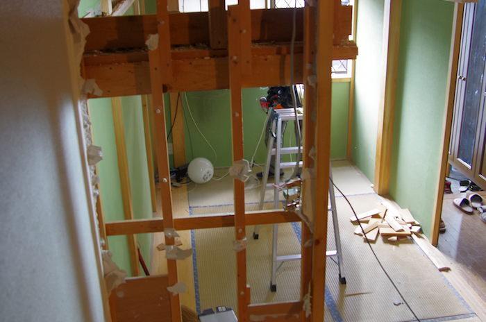 DIYで抜いて良い壁、ダメな壁の判断。耐震に影響のある壁とは?