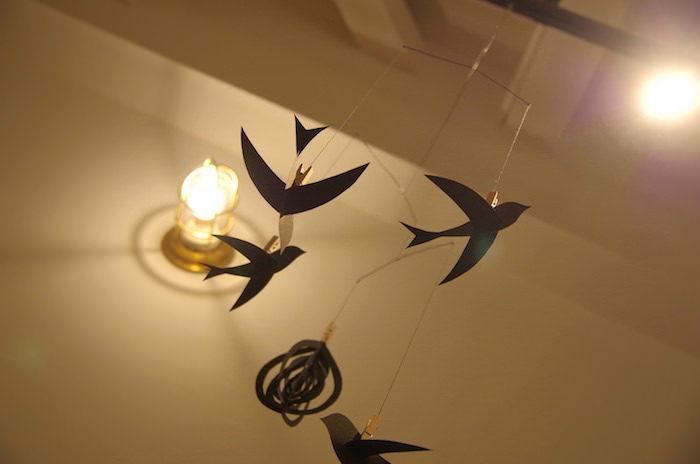 【簡単100均DIY】赤ちゃん用に鳥のモービルを手作りしたので作り方を解説