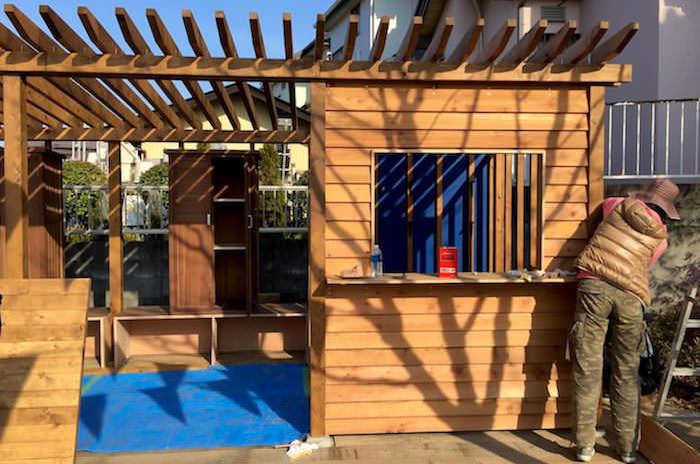 DIYで建てよう!パーゴラ&物置き小屋の作り方を学ぶ