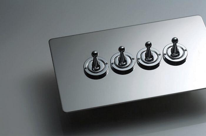 新築、リノベーション時に使いたいカッコいい電気スイッチを集めてみた