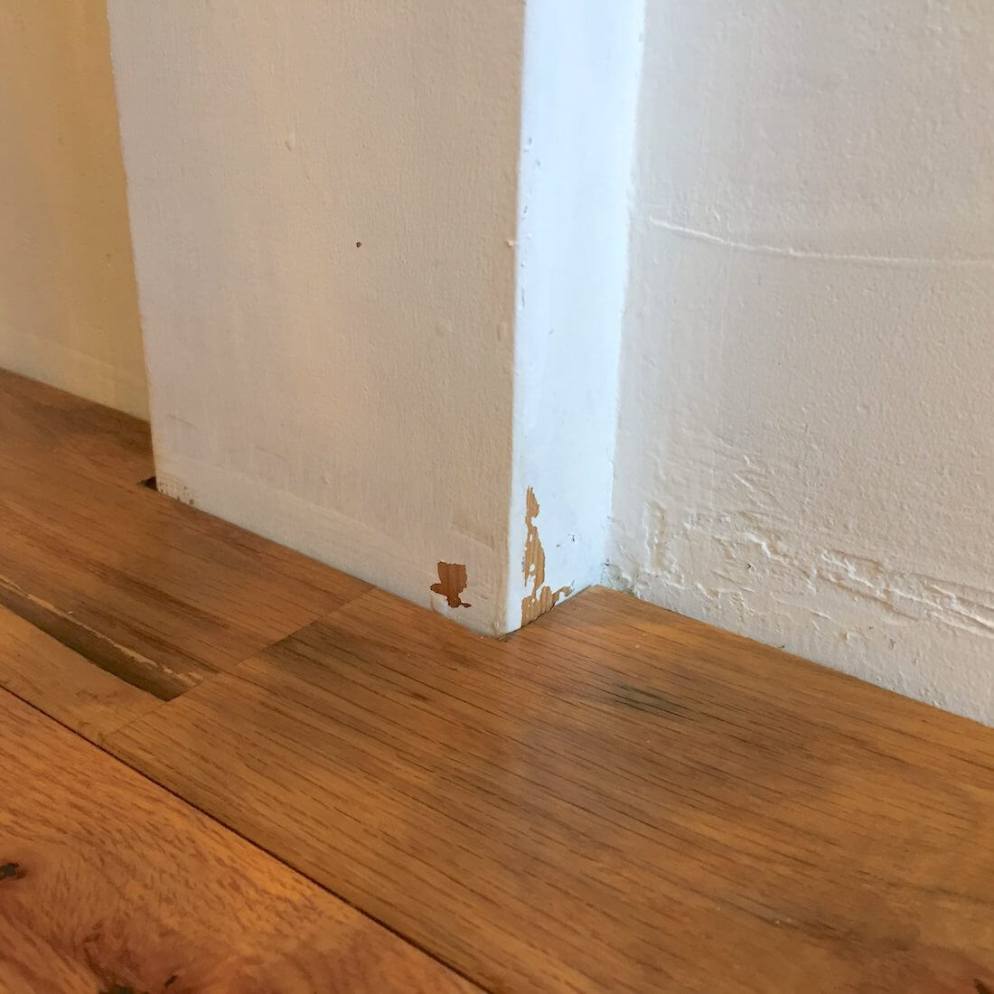 壁が汚れてもペンキ塗装仕上げならdiyで簡単補修 子供がクレヨンで