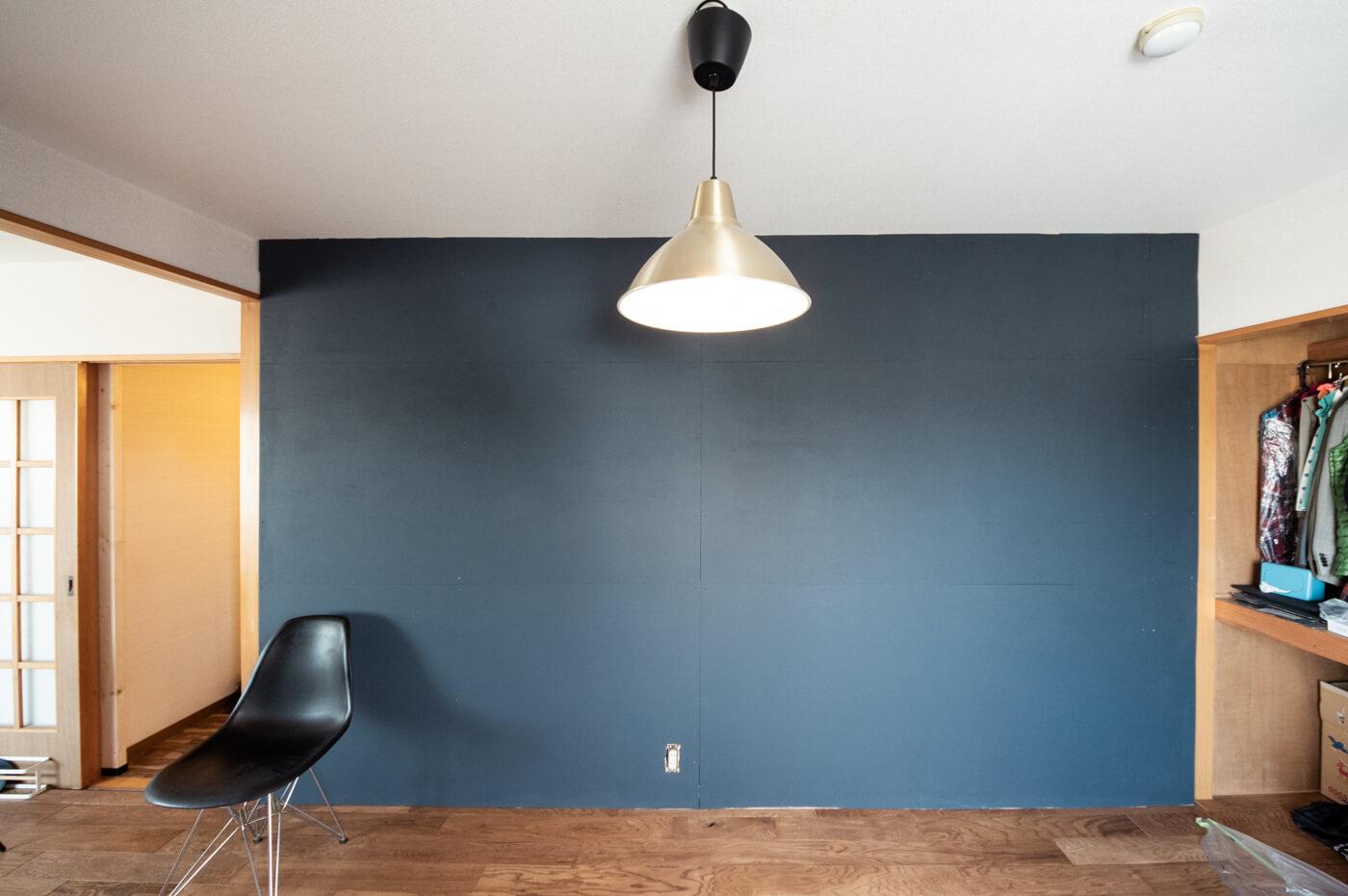 賃貸diy ラブリコ使って壁一面にベニヤ板を貼った後ペンキを塗ってみた 99 Diy Diyブログ
