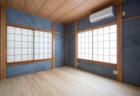DIYで和室の砂壁の上から漆喰を塗る
