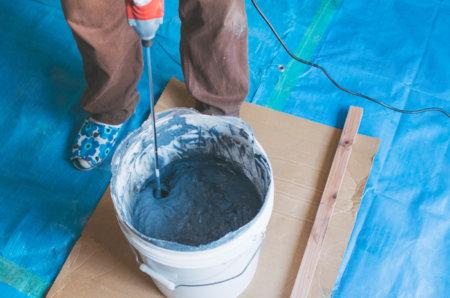 粉の漆喰を自分で練ってみたら大変だった話