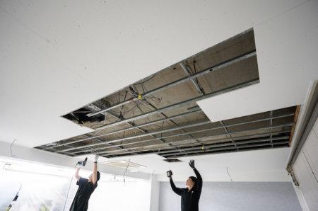 RC造マンション・ビルの天井をDIYで抜く