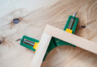 コーナークランプの使い方、木材の直角固定にDIYで便利なアイテム