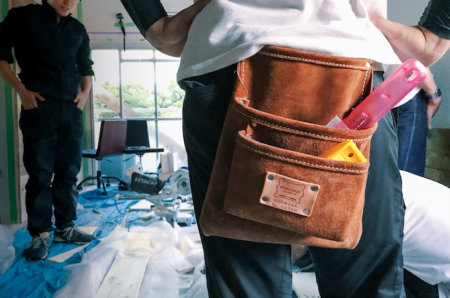 個人輸入したヘリテージレザーの本革製腰袋がカッコいいので見て欲しい