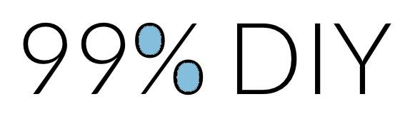 """暮らしを作るDIYブログ """"99% DIY"""""""